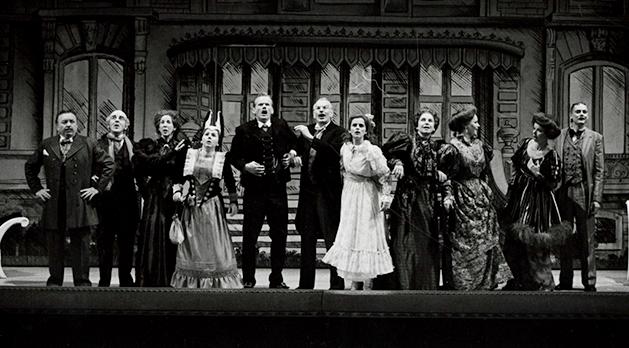 René Peier spielt Fritz in 'Der Schwarze Hecht', Stadttheater St Gallen