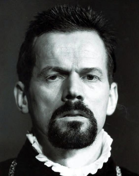 René Peier als Herzog von Alba, in 'Don Carlos' , 1998 – 1999: Theatergastspiele Kempf, München, Tournee