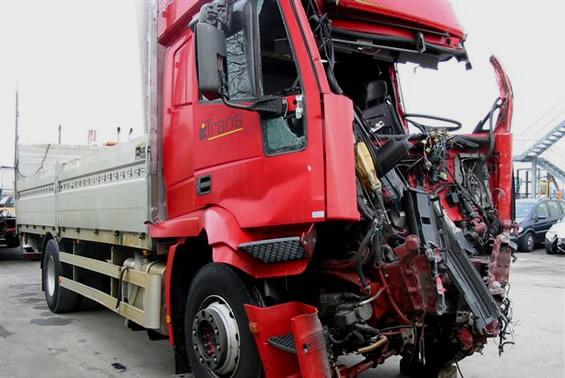 René Peier in Lastwagenunfall