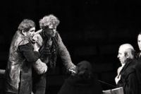 René Peier als Ruprecht in 'Der Zerbrochene Krug', Staatstheater Karlsruhe