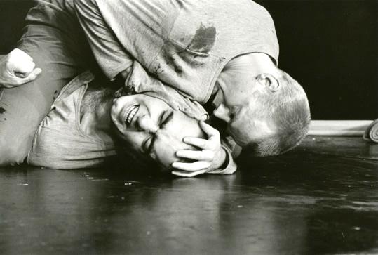 René Peier als Winston in 'Die Insel', 1982 – 1991: Schauspielhaus Zürich