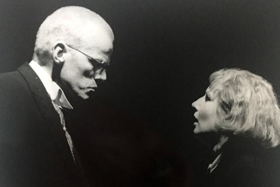René Peier speilt 'Wurm in Kabale und Liebe' (Schiller, 1996 1997, Städtische Bühnen Münster