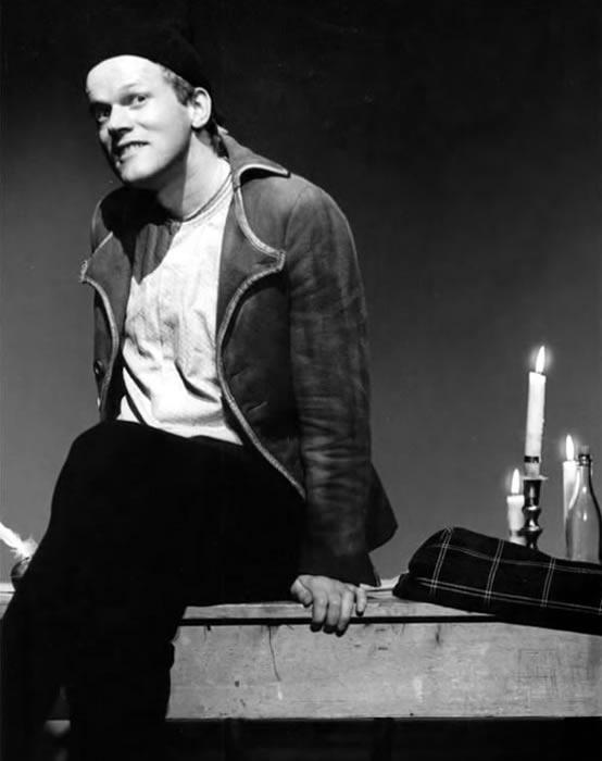 René Peier als Ueli Bräker in 'Der arme Mann aus dem Tockenburg', 1982 – 1991 Schauspielhaus Zürich