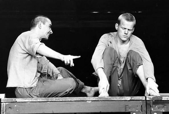 René Peier als Winston in 'Die Insel' Schauspielhaus Zürich