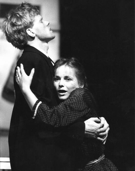 René Peier spielt Robert in 'Marie und Robert', Paul Haller, Schauspielhaus Zürich