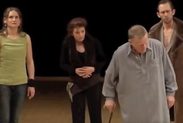 René Peier spielt Theseus in 'Oedipus auf Kolonos' (Sophokles) Städtische Bühnen Frankfurt